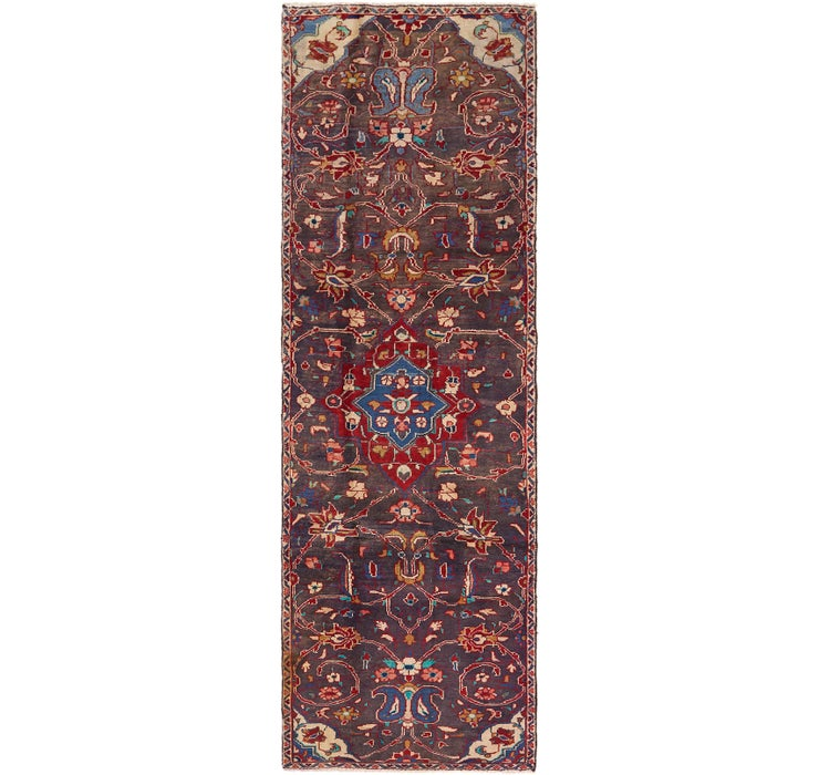Image of 85cm x 290cm Farahan Persian Runner ...