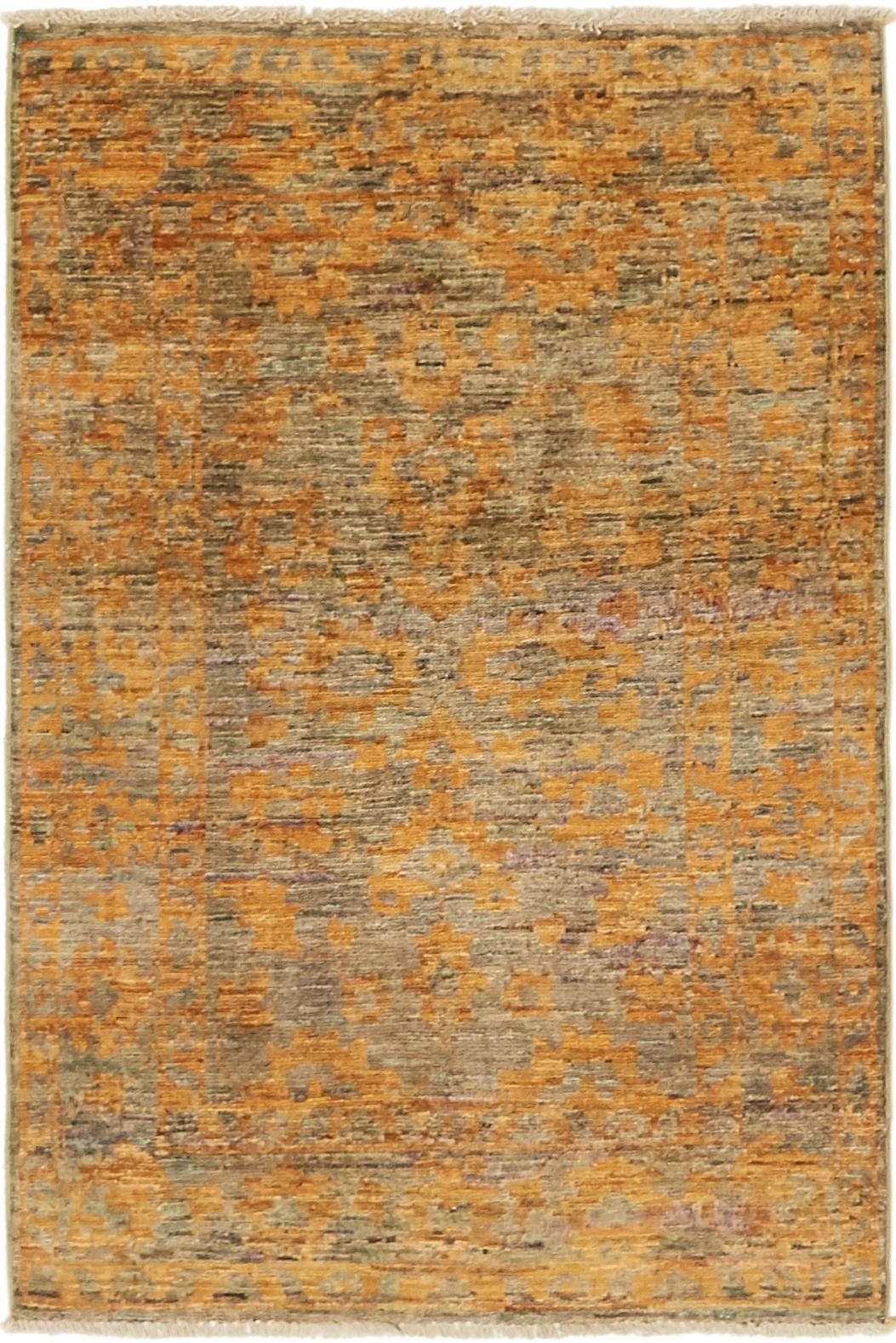 2' 8 x 4' Over-Dyed Ziegler Rug main image