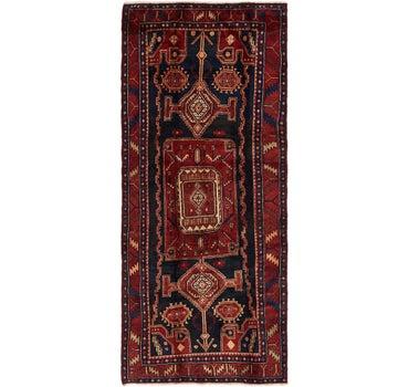 4' 2 x 9' 10 Meshkin Persian Runner Rug main image