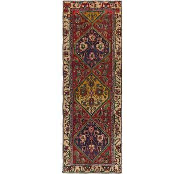 Image of 3' 4 x 10' 2 Meshkin Persian Runner ...