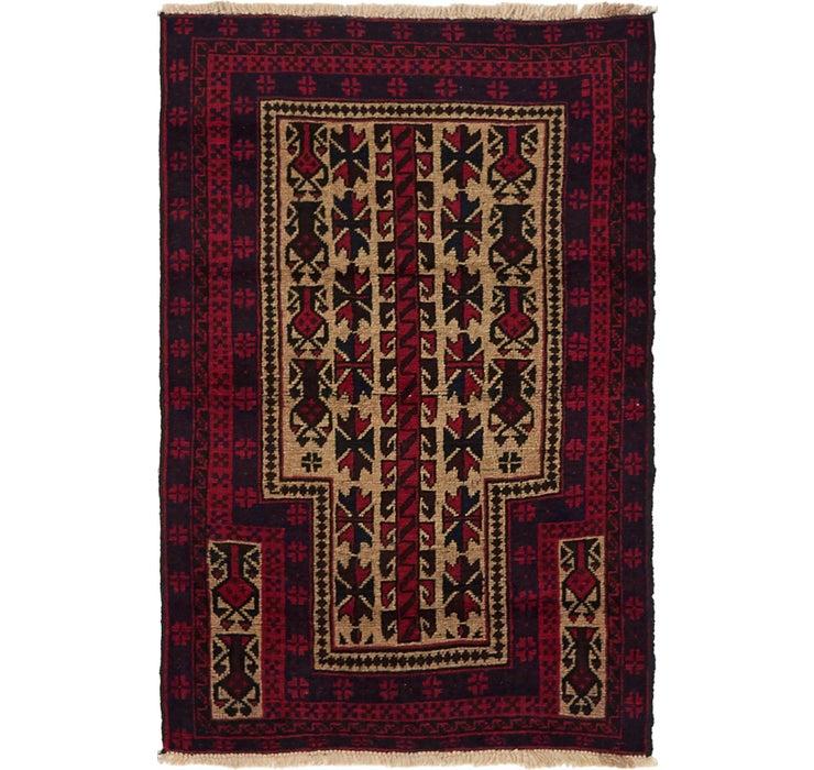 85cm x 130cm Balouch Persian Rug