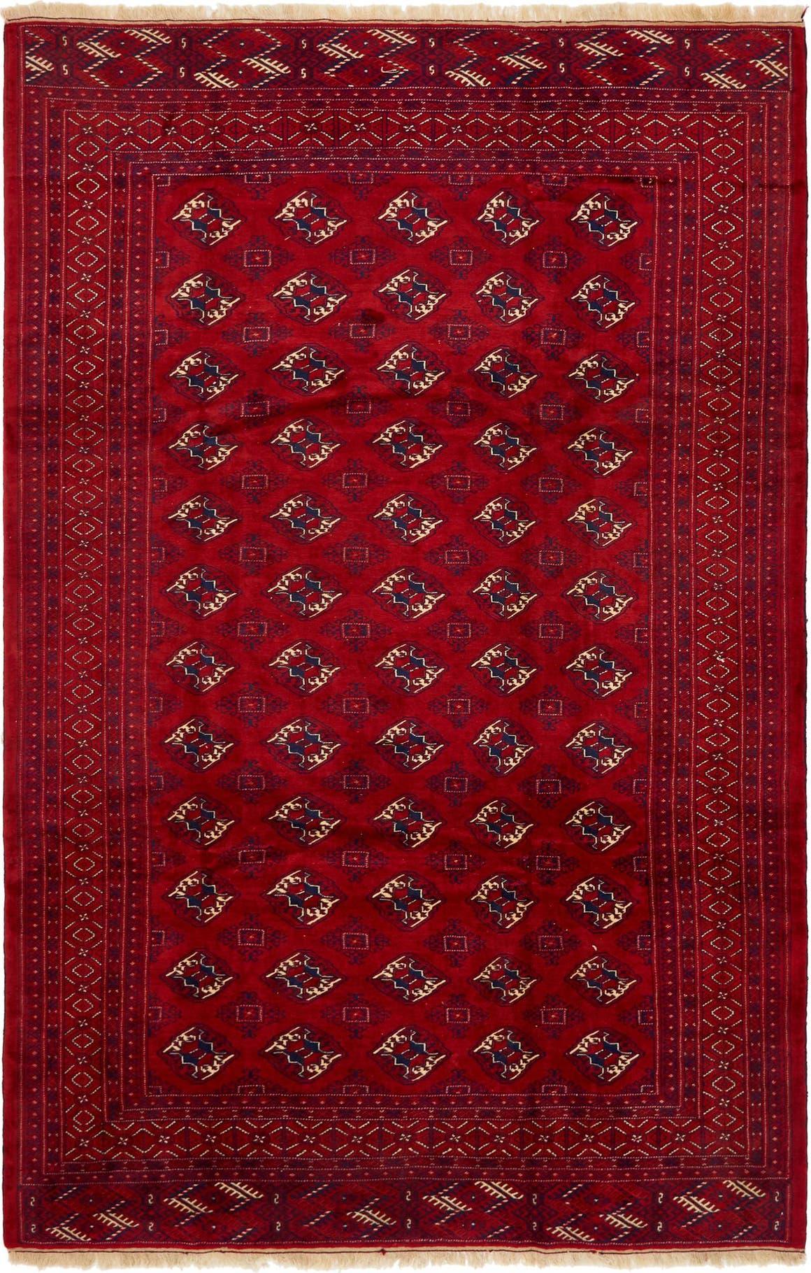 7' 8 x 12' 2 Torkaman Persian Rug main image