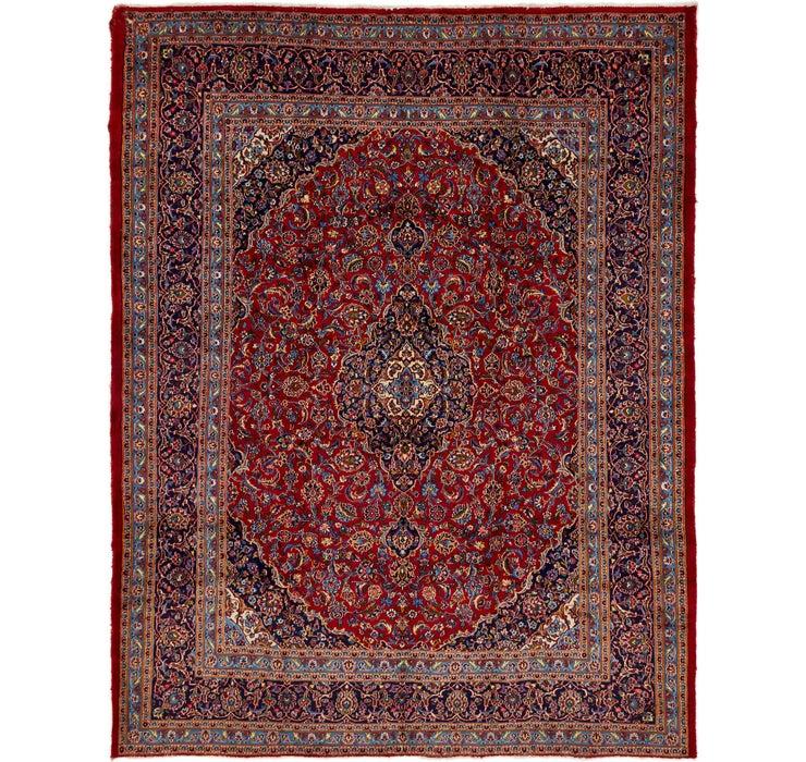 295cm x 390cm Kashan Persian Rug