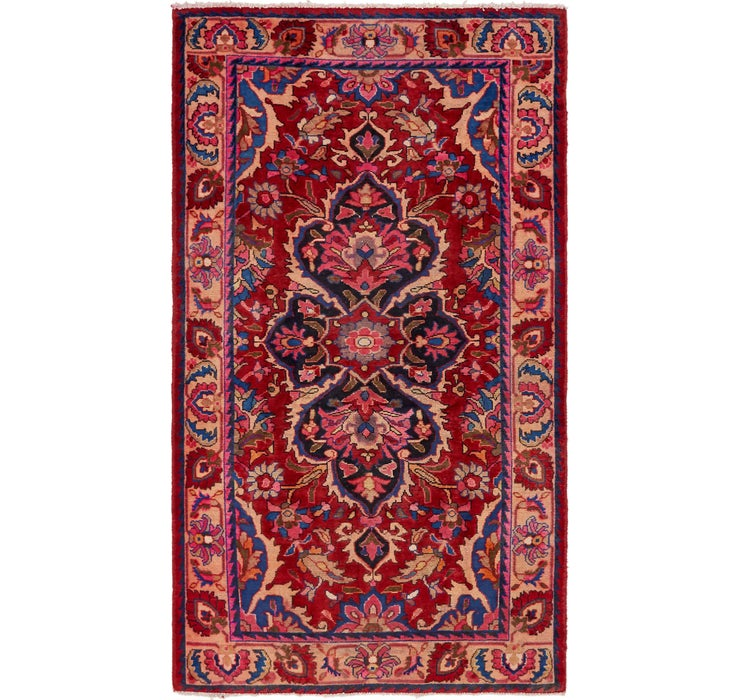 4' 6 x 7' 10 Borchelu Persian Rug