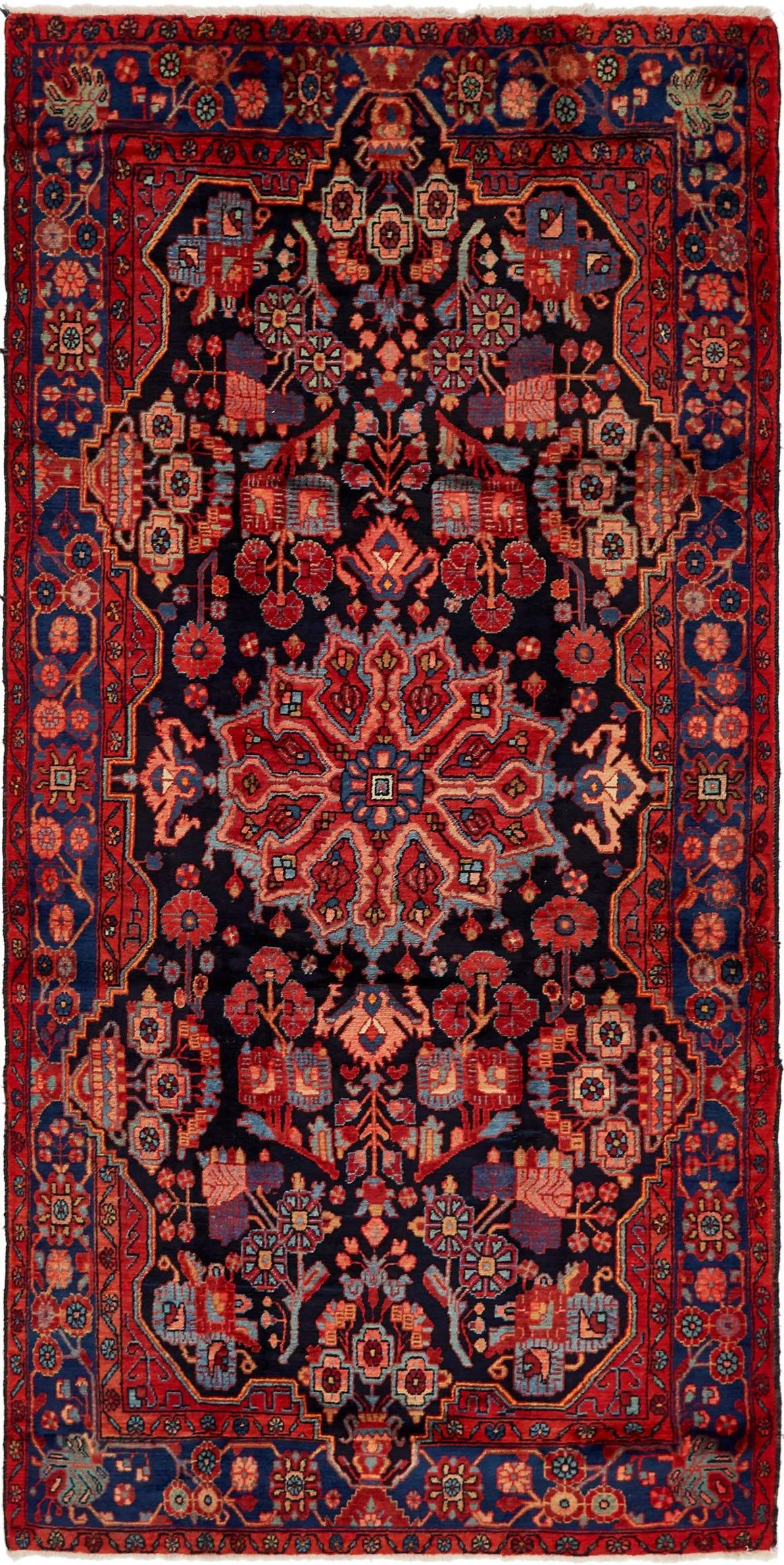5' x 10' Nahavand Persian Runner Rug main image