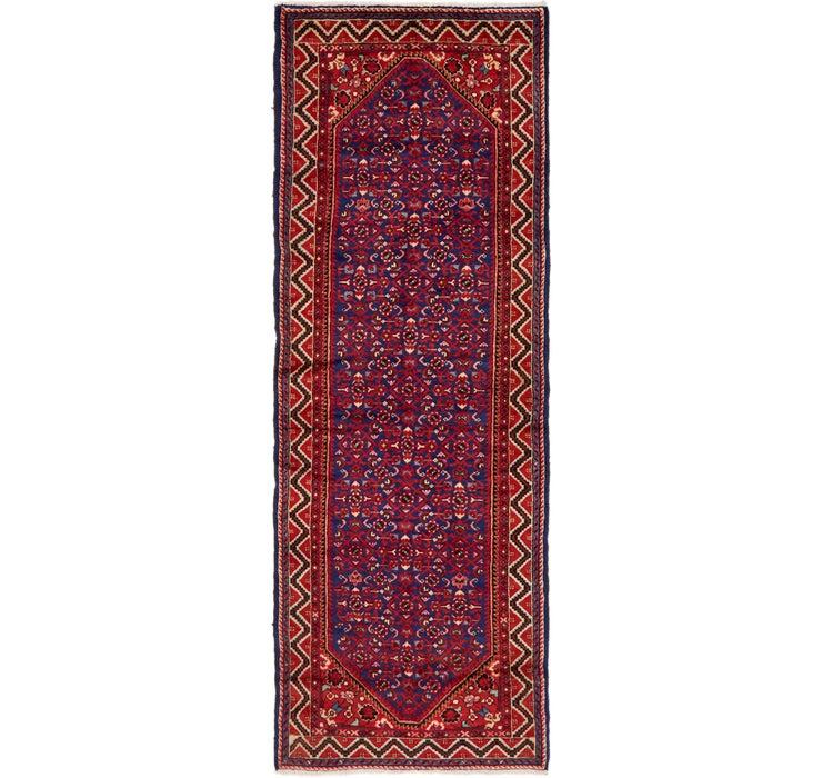 105cm x 310cm Hamedan Persian Runner ...