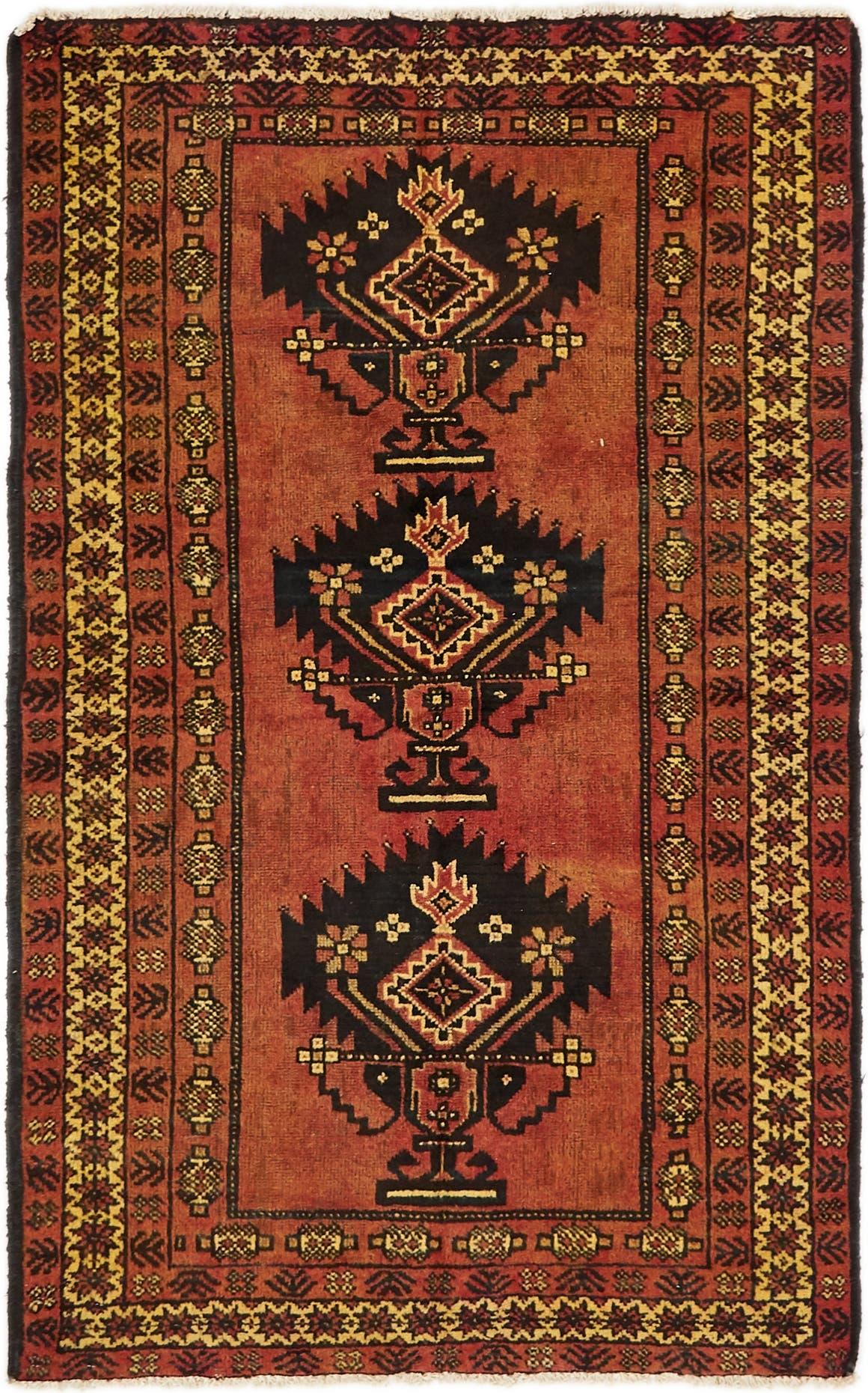 4' x 6' 10 Shiraz-Lori Persian Rug main image