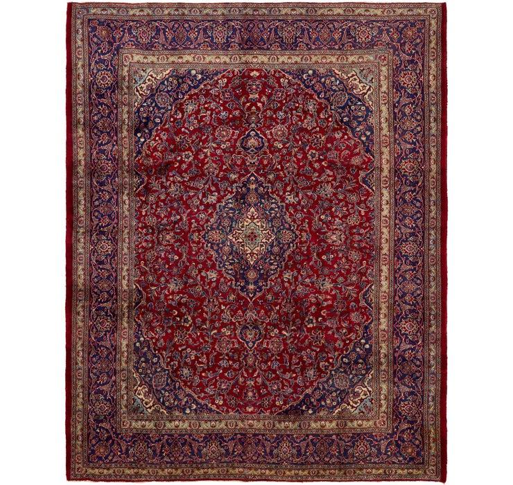 295cm x 378cm Mashad Persian Rug