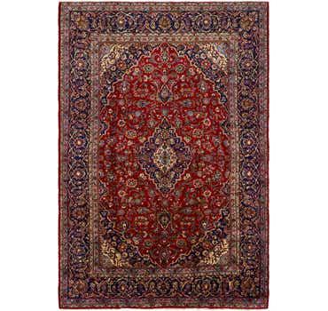 8' 8 x 12' 9 Kashan Persian Rug