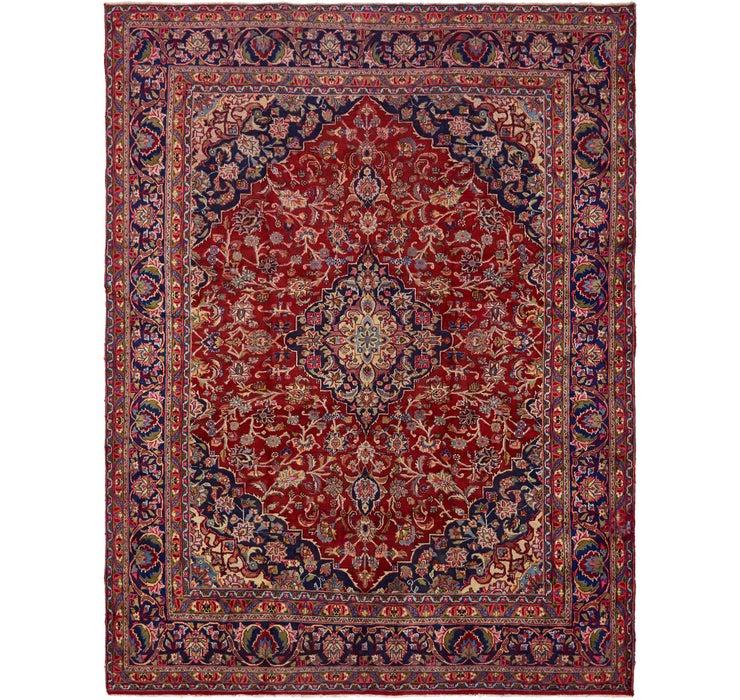 287cm x 380cm Mashad Persian Rug