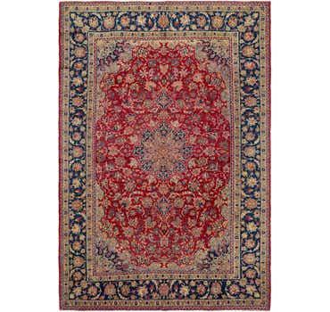 8' 8 x 12' 10 Isfahan Persian Rug