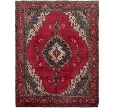 Image of 9' 4 x 12' 4 Tabriz Persian Rug