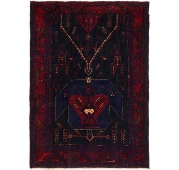 4' 10 x 7' Meshkin Persian Rug main image