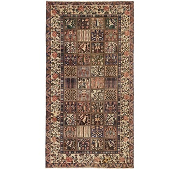 5' x 9' 10 Bakhtiar Persian Runner Rug main image