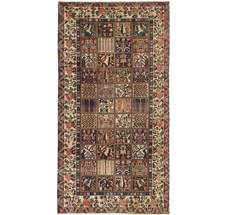 5' x 9' 10 Bakhtiar Persian Runner...