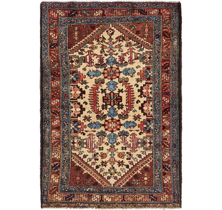 135cm x 198cm Hamedan Persian Rug
