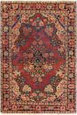 4' x 6' 4 Hamedan Persian Rug thumbnail