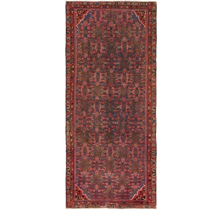 3' 10 x 9' 4 Mahal Persian Runner Rug