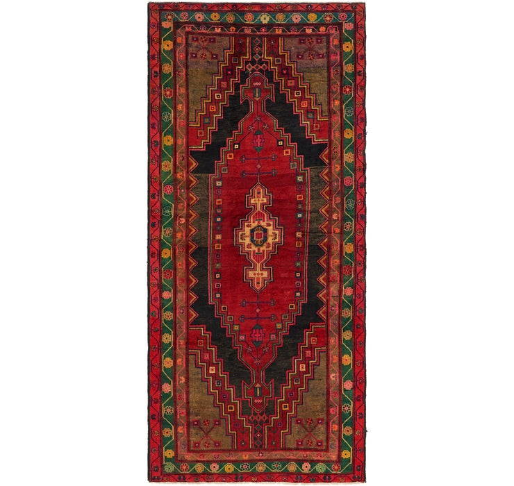 4' 10 x 11' Mazlaghan Persian Runne...