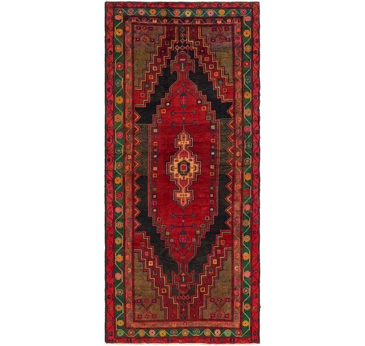 147cm x 335cm Mazlaghan Persian Runne...