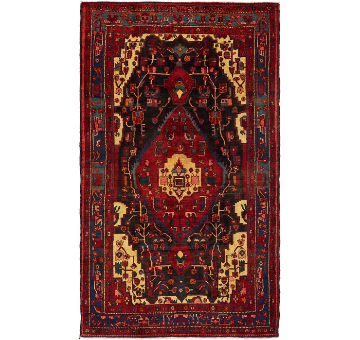 163cm x 282cm Nahavand Persian Rug