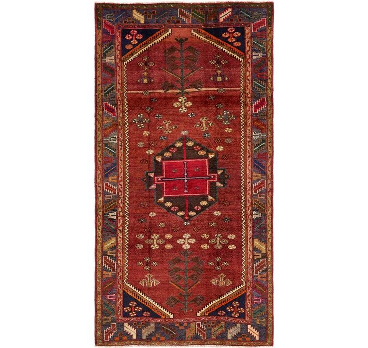5' x 9' 9 Shiraz Persian Runner Rug