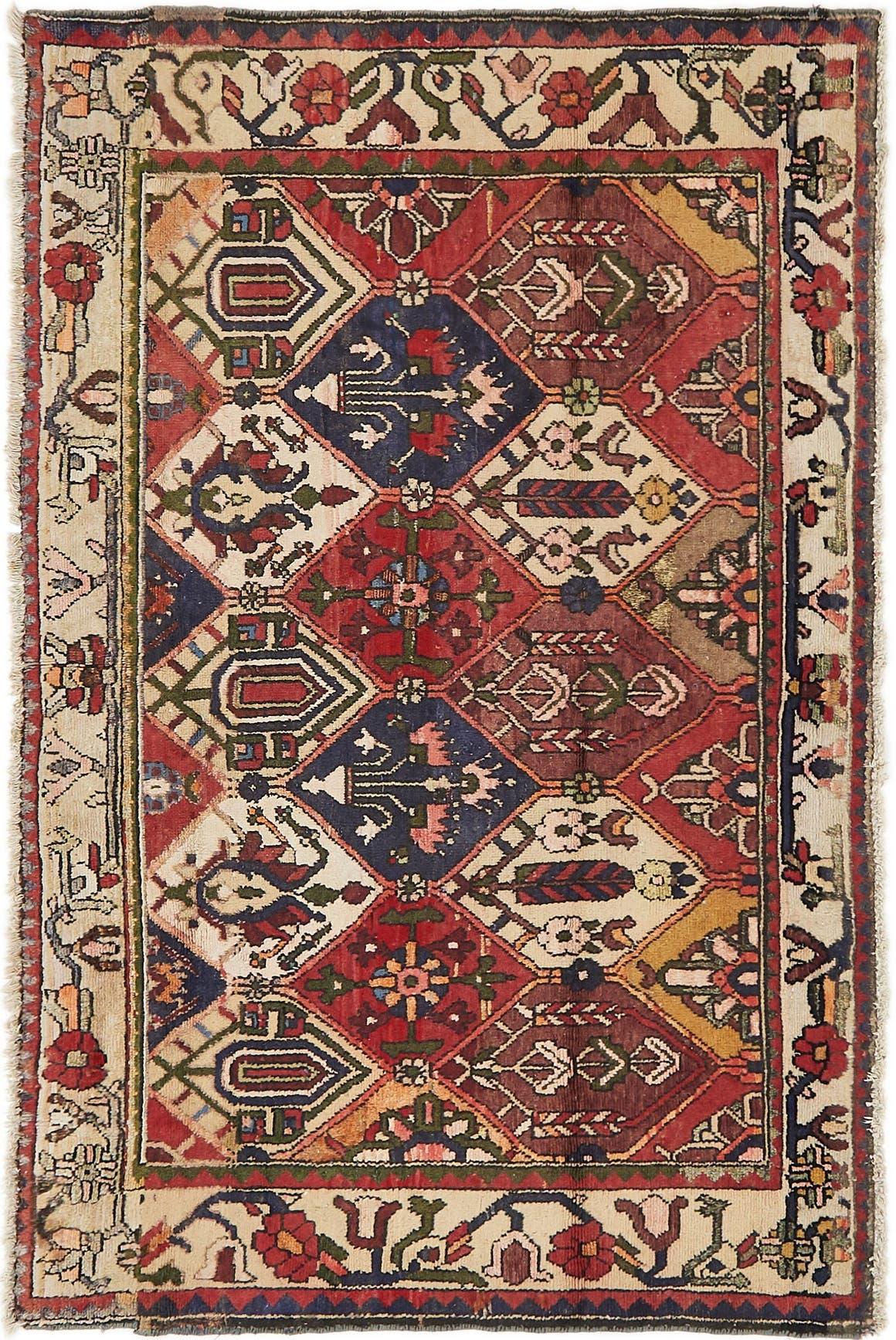 4' 4 x 6' 8 Bakhtiar Persian Rug main image