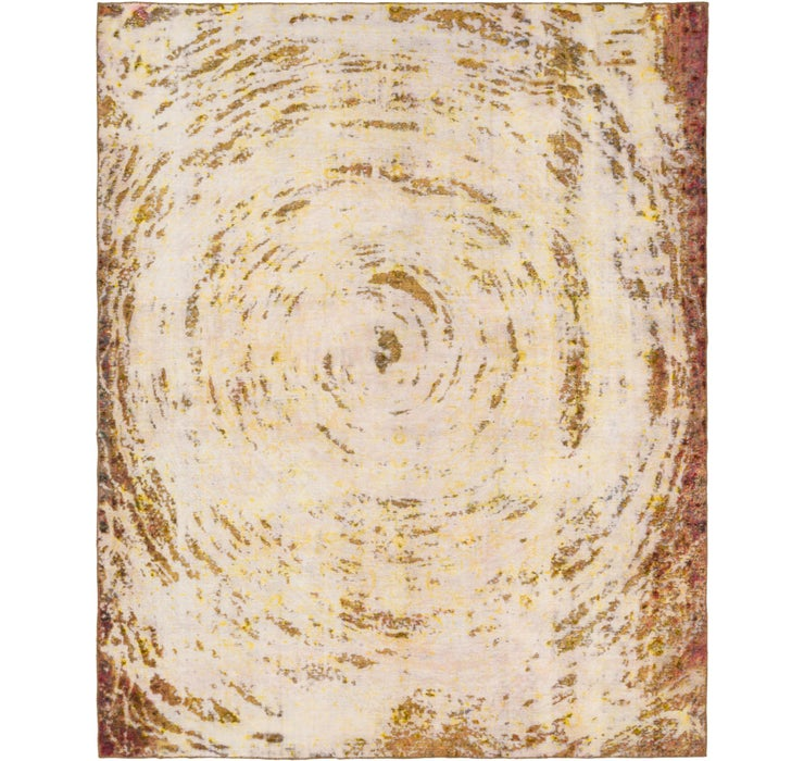 275cm x 345cm Ultra Vintage Persian Rug