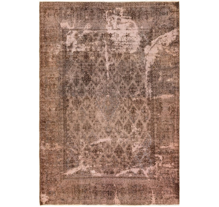 208cm x 305cm Ultra Vintage Persian Rug