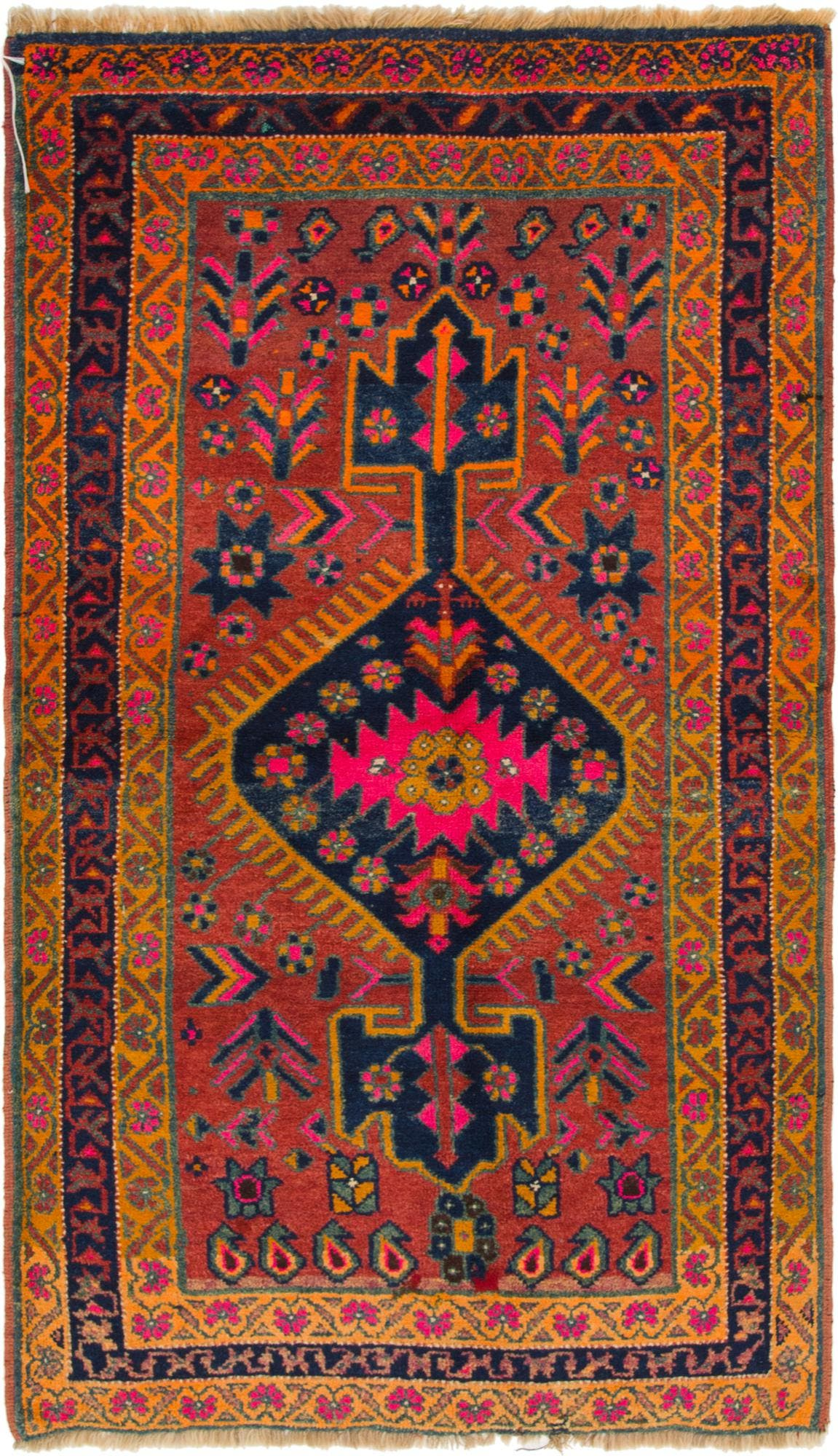 4' 3 x 7' 5 Shiraz-Lori Persian Rug main image