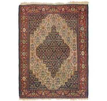 Image of 4' 9 x 6' 8 Bidjar Persian Rug