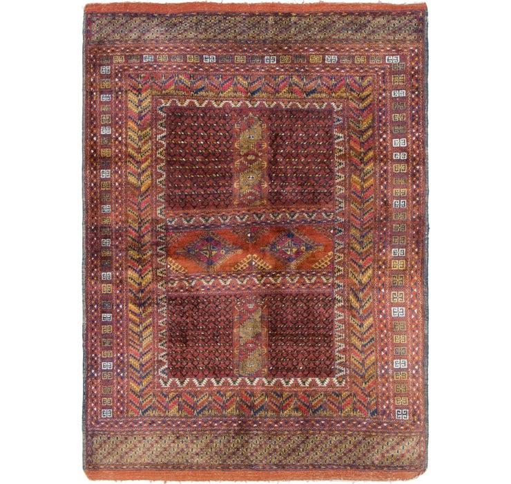 4' 2 x 5' 8 Bokhara Oriental Rug