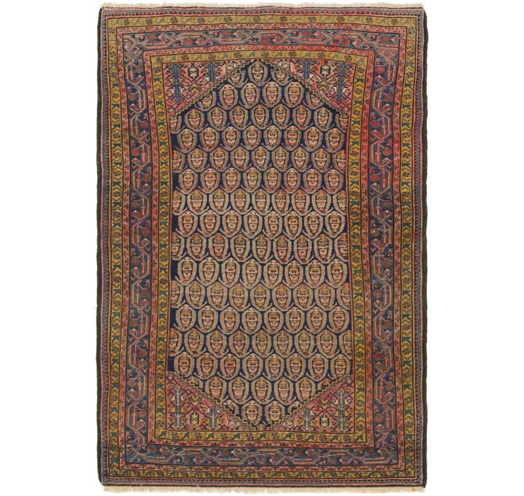 137cm x 203cm Malayer Persian Rug