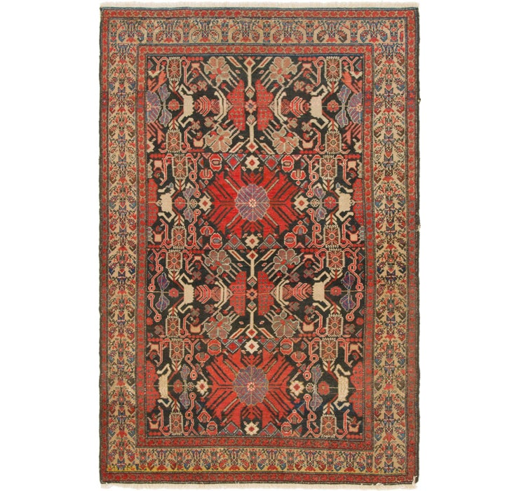 132cm x 200cm Malayer Persian Rug
