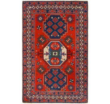 Image of 4' 5 x 6' 9 Kars Oriental Runner Rug