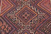 4' 7 x 7' 2 Shiraz Persian Rug thumbnail