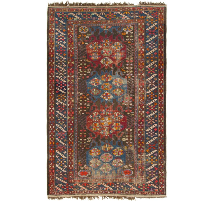 4' 3 x 7' Shiraz Persian Rug