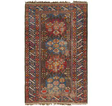 Image of 4' 3 x 7' Shiraz Persian Rug