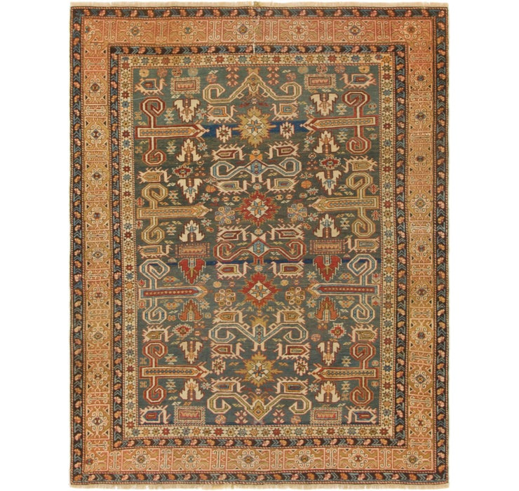 122cm x 157cm Malayer Persian Rug