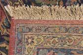 7' 3 x 10' 9 Kashan Persian Rug thumbnail
