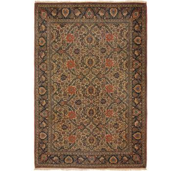 7' 3 x 10' 9 Kashan Persian Rug main image