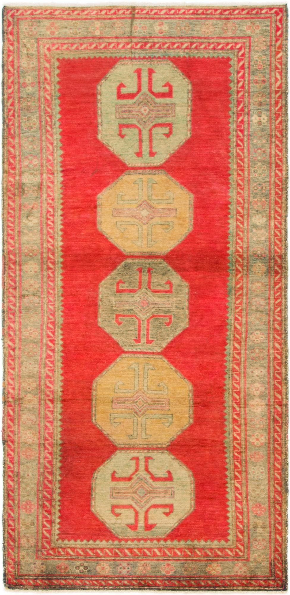 3' x 6' 3 Antique Finish Runner Rug main image