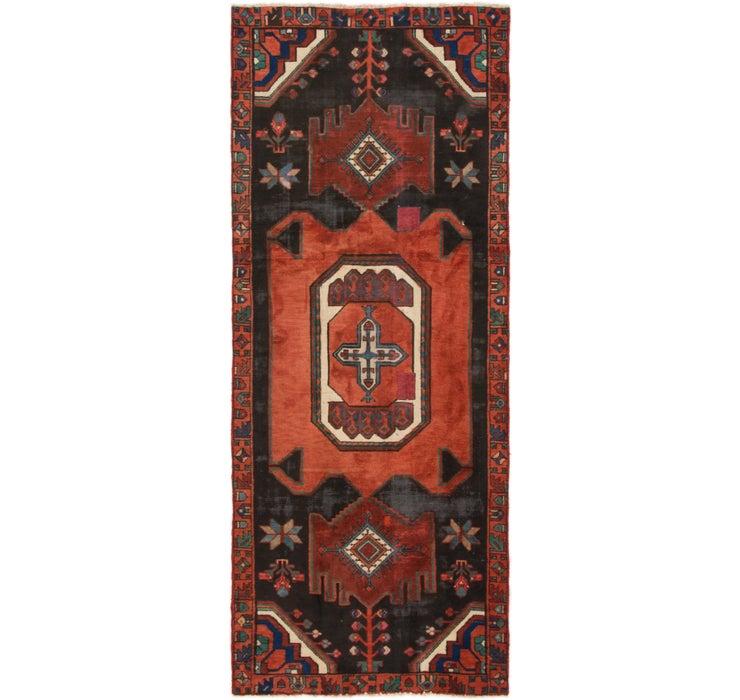 122cm x 290cm Zanjan Persian Runner Rug