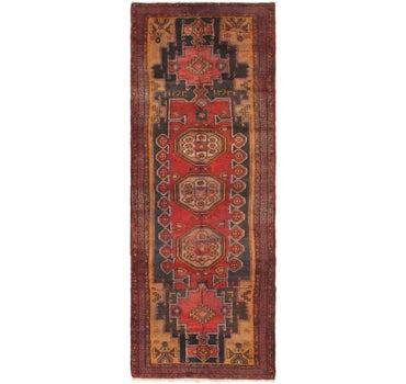 3' 8 x 10' Meshkin Persian Runner Rug main image