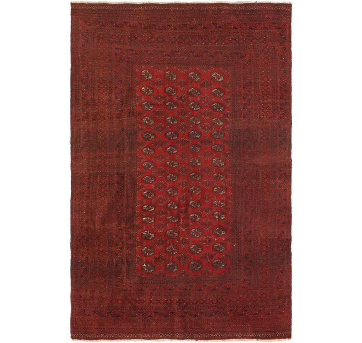 188cm x 287cm Torkaman Persian Rug