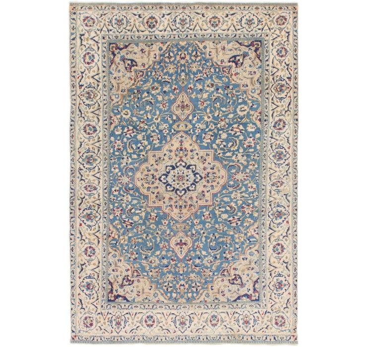 6' 3 x 9' 6 Nain Persian Rug