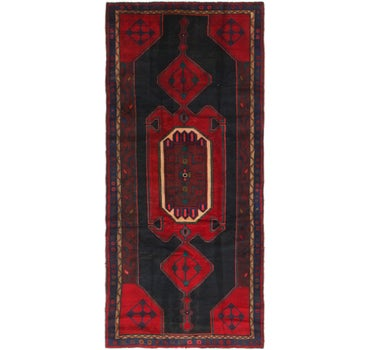 4' 4 x 9' 8 Zanjan Persian Runner Rug main image