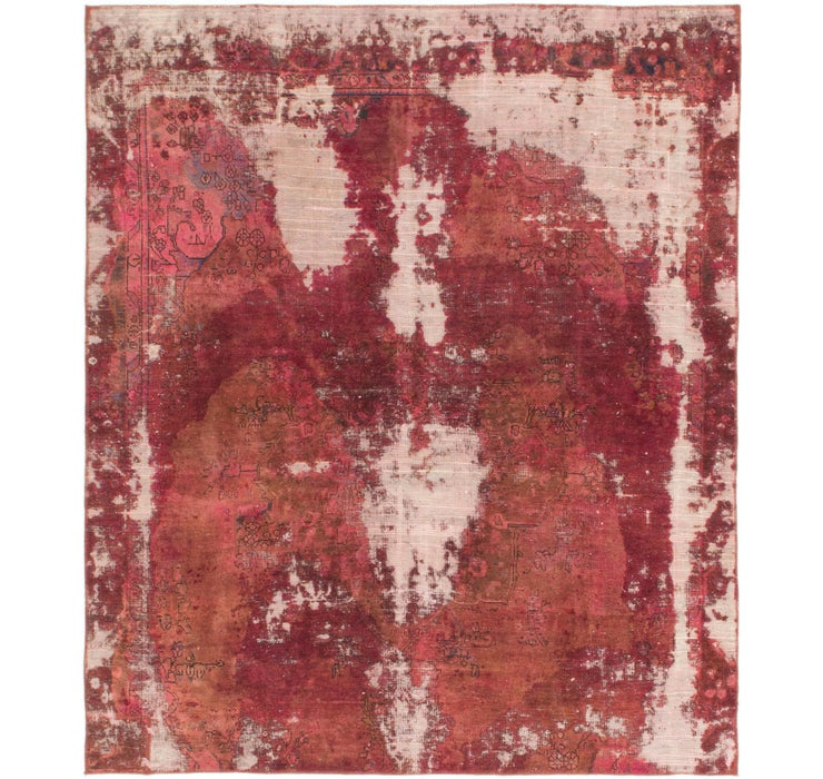 7' 6 x 8' 10 Ultra Vintage Persian Rug
