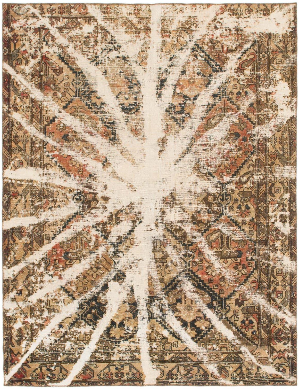 7' x 9' Ultra Vintage Persian Rug main image