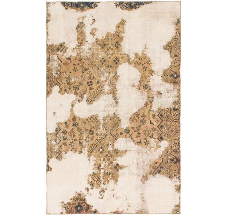 6' x 9' 8 Ultra Vintage Persian Rug